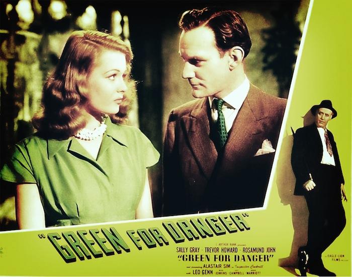 Sally Gray and Trevor Howard in Green for Danger
