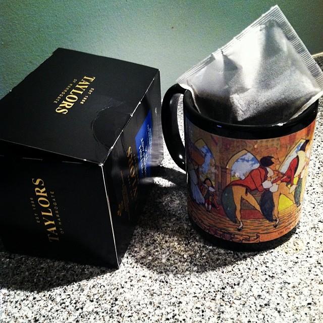 Old King Cole Taylors of Harrogate Scottish Breakfast Tea #1day12pics