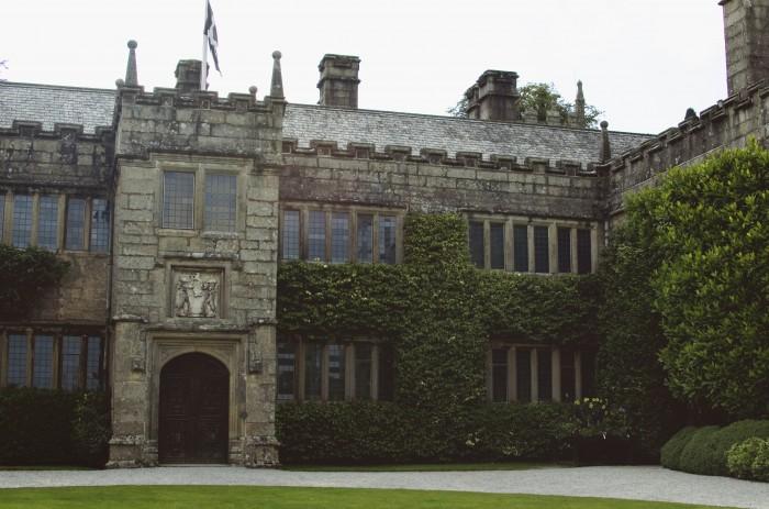 Lanhydrock Courtyard