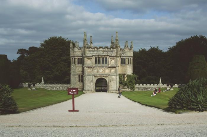 Lanhydrock Gate